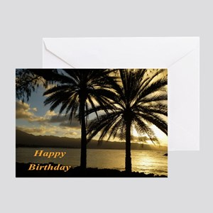 Sunset Haleiwa, Oahu Greeting Card