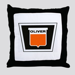 oliver newer Throw Pillow