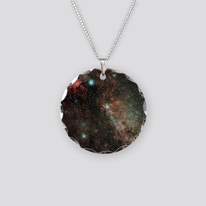 Milky Way in Cygnus - Necklace Circle Charm