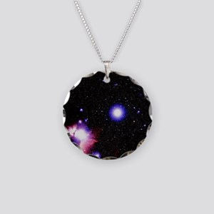 of Orion's belt - Necklace Circle Charm