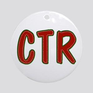 Christmas CTR Ornament (Round)