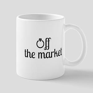 Off the Market Bride Mug
