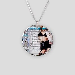 eptual artwork - Necklace Circle Charm