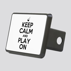 Keep Calm and Play On Bagpipe Hitch Cover