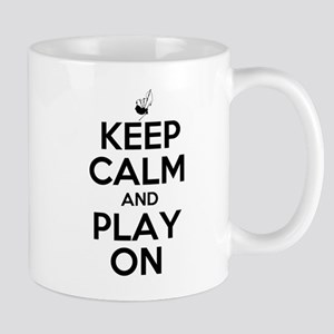 Keep Calm and Play On Bagpipe Mug