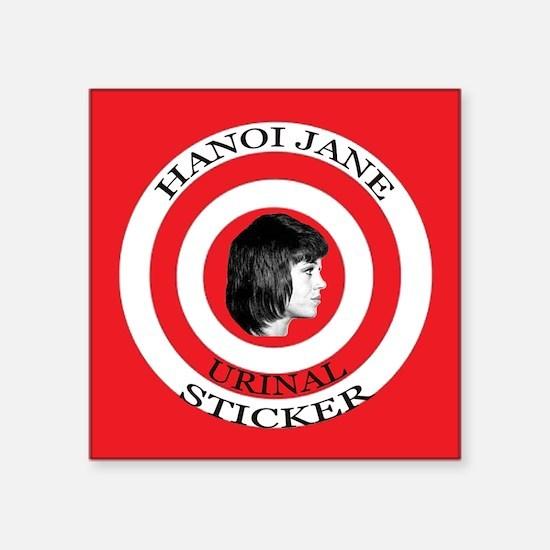 "3"" Hanoi Jane Urinal Sticker"