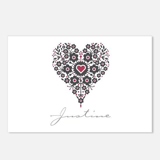 Love Justine Postcards (Package of 8)