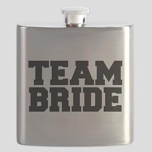 Team Bride Flask