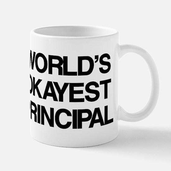 World's Okayest Principal Mug
