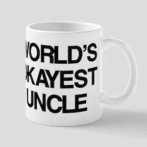World's Okayest Uncle Mug