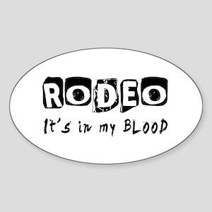 Rodeo Designs Sticker (Oval)