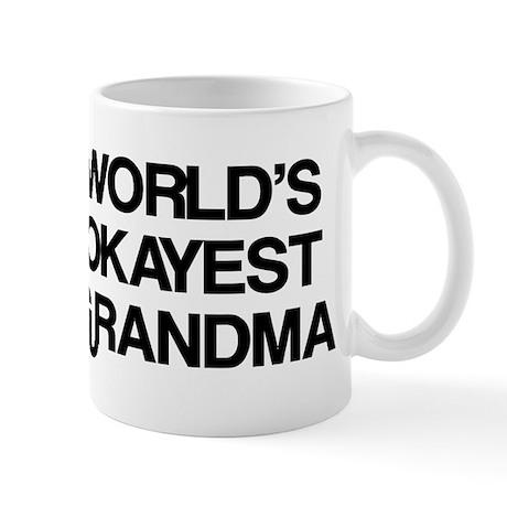 World's Okayest Grandma Mug
