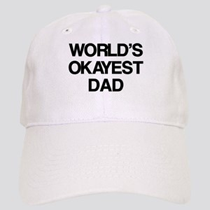 World's Okayest Dad Cap