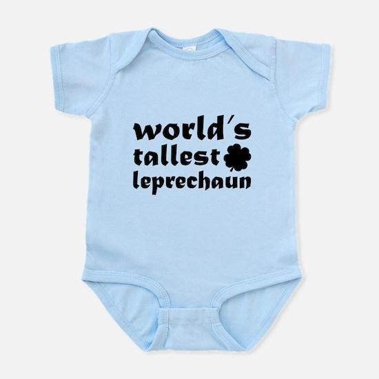 World's tallest leprechaun Infant Bodysuit