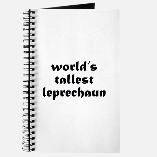 World's tallest leprechaun Journal