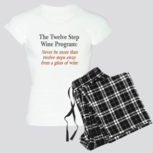 Twelve Step Wine Program Women's Light Pajamas