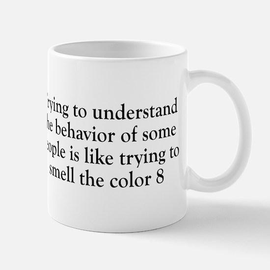 Smell The Color 8 Mug