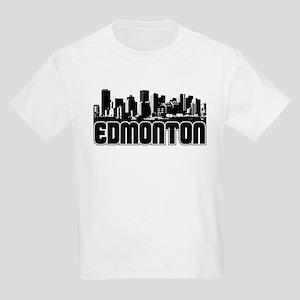 Edmonton Skyline Kids Light T-Shirt
