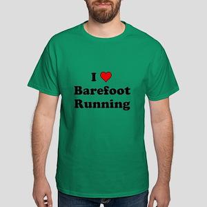 I Heart Barefoot Running T-Shirt