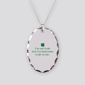 Irish In Me Necklace Oval Charm