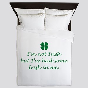 Irish In Me Queen Duvet