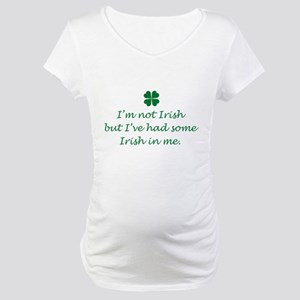 Irish In Me Maternity T-Shirt
