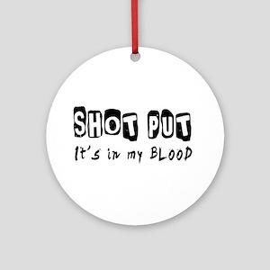 Shot Put Designs Ornament (Round)