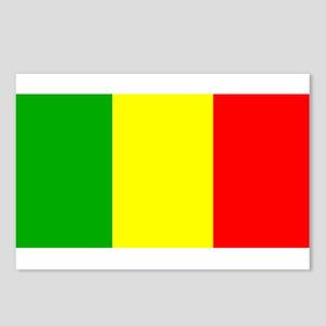 Mali Malian Blank Flag Postcards (Package of 8)