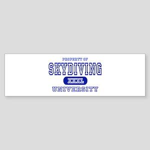 Skydiving University Bumper Sticker