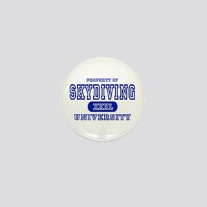 Skydiving University Mini Button