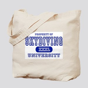 Skydiving University Tote Bag
