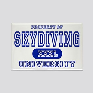 Skydiving University Rectangle Magnet