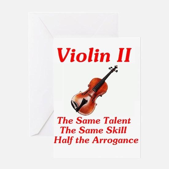 violinii Greeting Cards