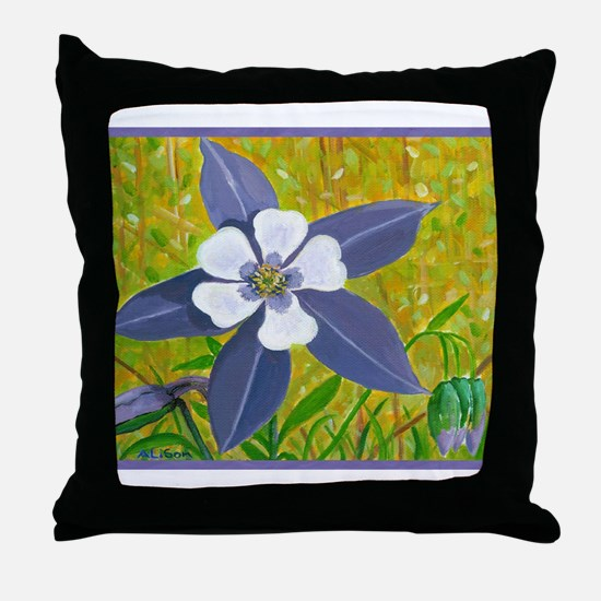 Shine Out and Sparkle Throw Pillow