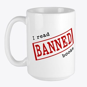 Banned Books Large Mug