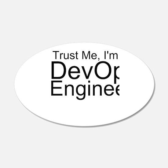 Trust Me, I'm A DevOps Engineer Wall Decal