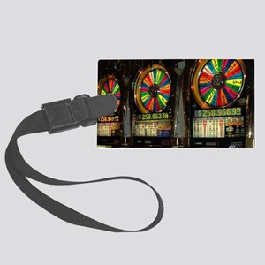 Las Vegas Slots Luggage Tag