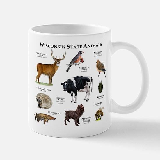 Wisconsin State Animals Mug