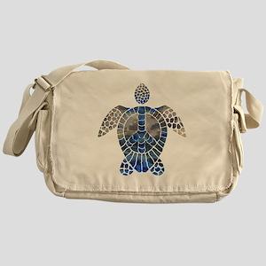 Sea Turtle Peace Messenger Bag