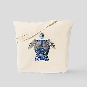 Sea Turtle Peace Tote Bag