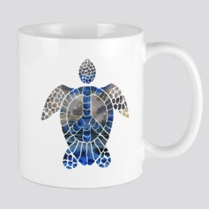 Sea Turtle Peace Mug
