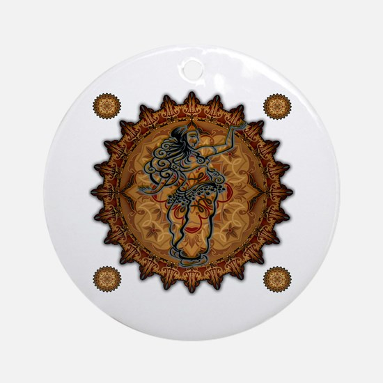 Belly Dancer Ornament (Round)