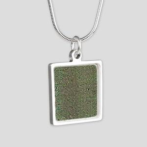 age - Silver Square Necklace
