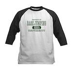 Base Jumping University Kids Baseball Jersey