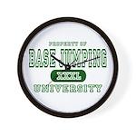 Base Jumping University Wall Clock