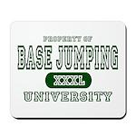 Base Jumping University Mousepad