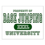 Base Jumping University Small Poster