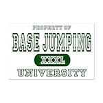 Base Jumping University Mini Poster Print