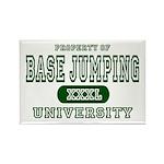 Base Jumping University Rectangle Magnet