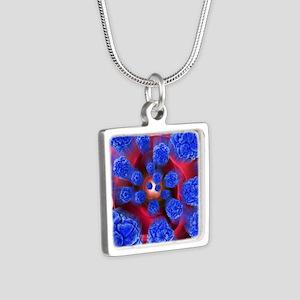 al artwork - Silver Square Necklace